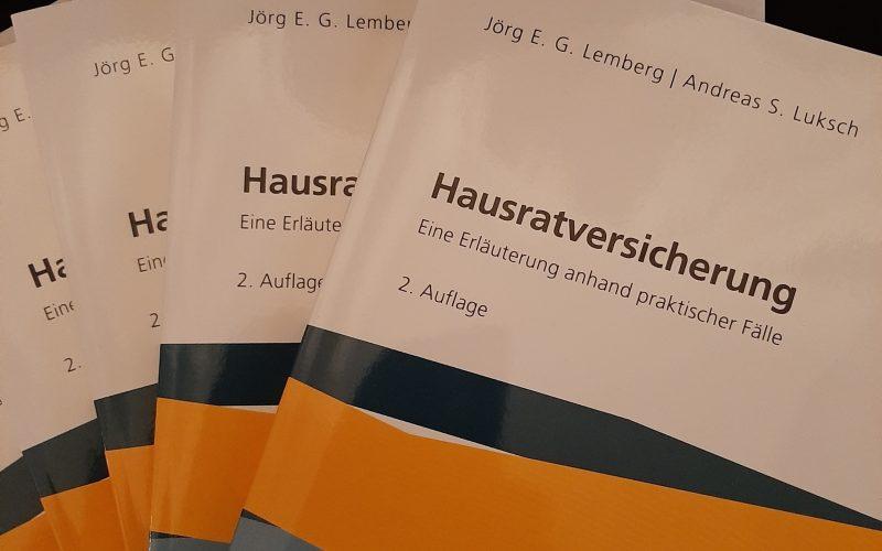 Cover Hausratversicherung 5 Exemplare