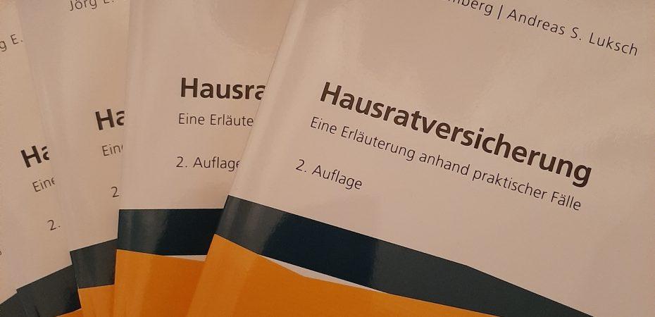 Top aktuell: Hausratversicherung, 2. Auflage 2020, 24,90 EUR
